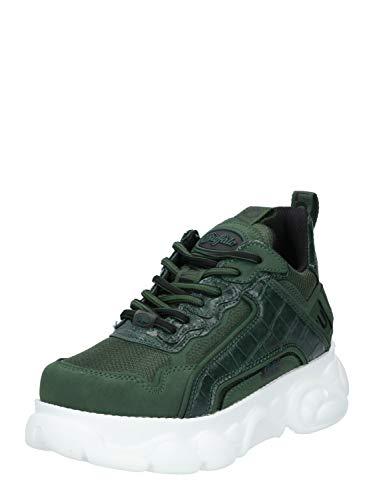 Buffalo Damen Sneaker CLD CHAI, Frauen Low Top Sneaker, schnürschuh sportschuh Wedge-Sneaker keil-Absatz...
